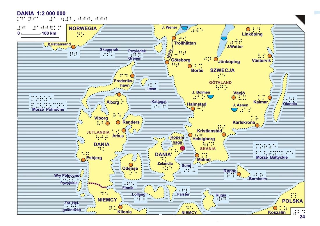 24 Dania Mapa Ogólna