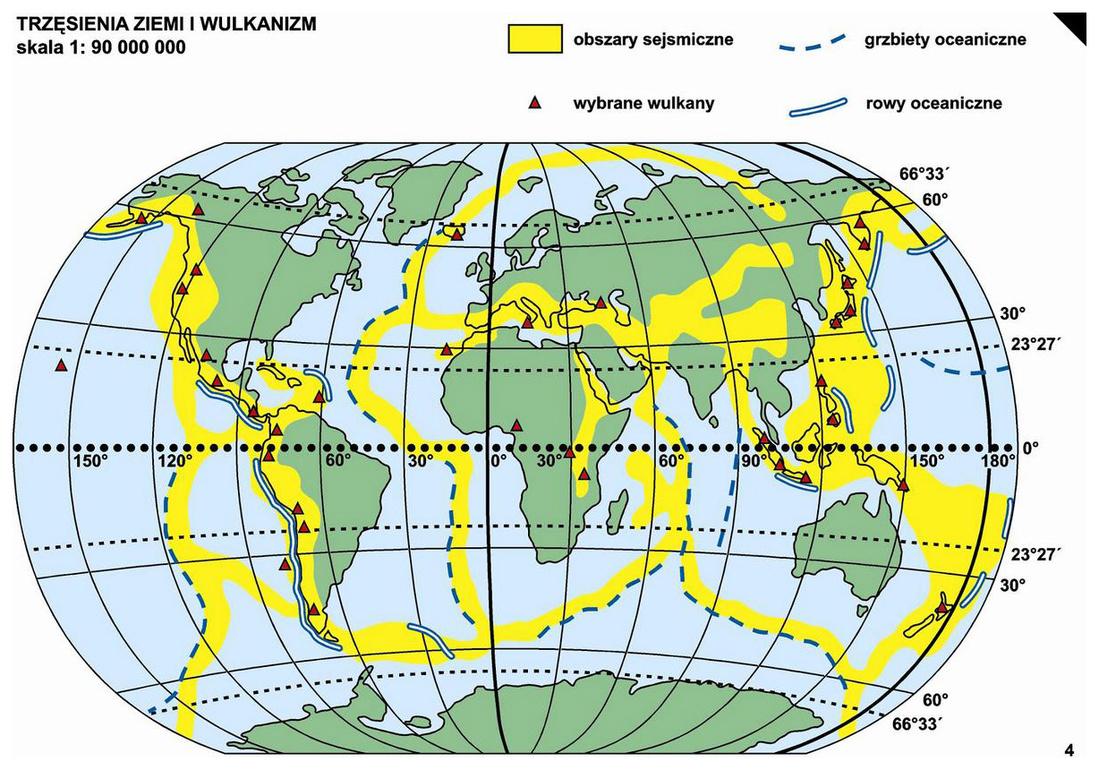 4 Trzesienia Ziemi I Wulkanizm